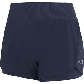 GORE WEAR R7 2en1 Shorts Mujer, orbit blue